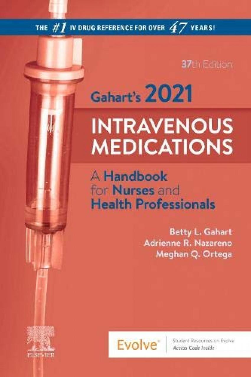 Gahart's 2021.intravenous medications