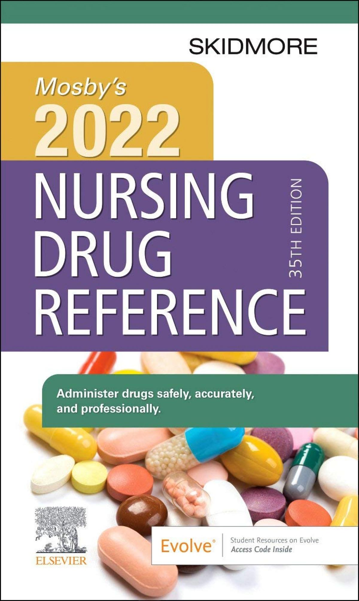 Mosby´s 2022 nursing drug reference