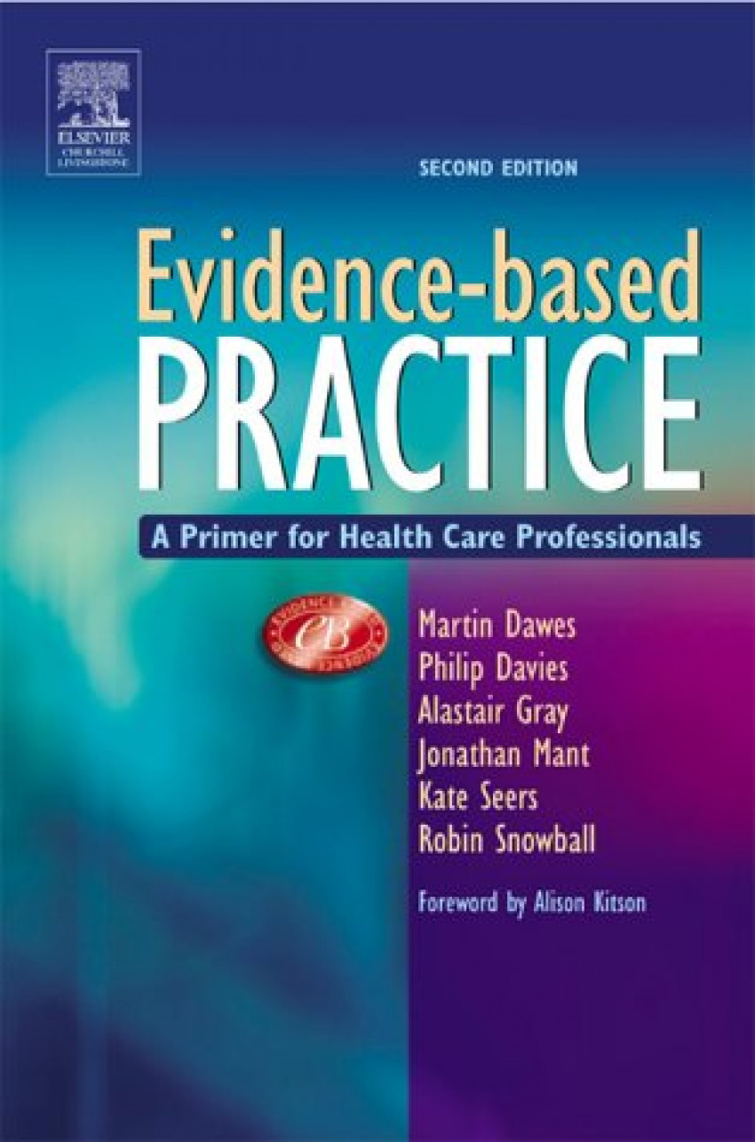 EVIDENCE BASED PRACTICE A PRIMER FOR HEALTH CARE PROFESSINALS