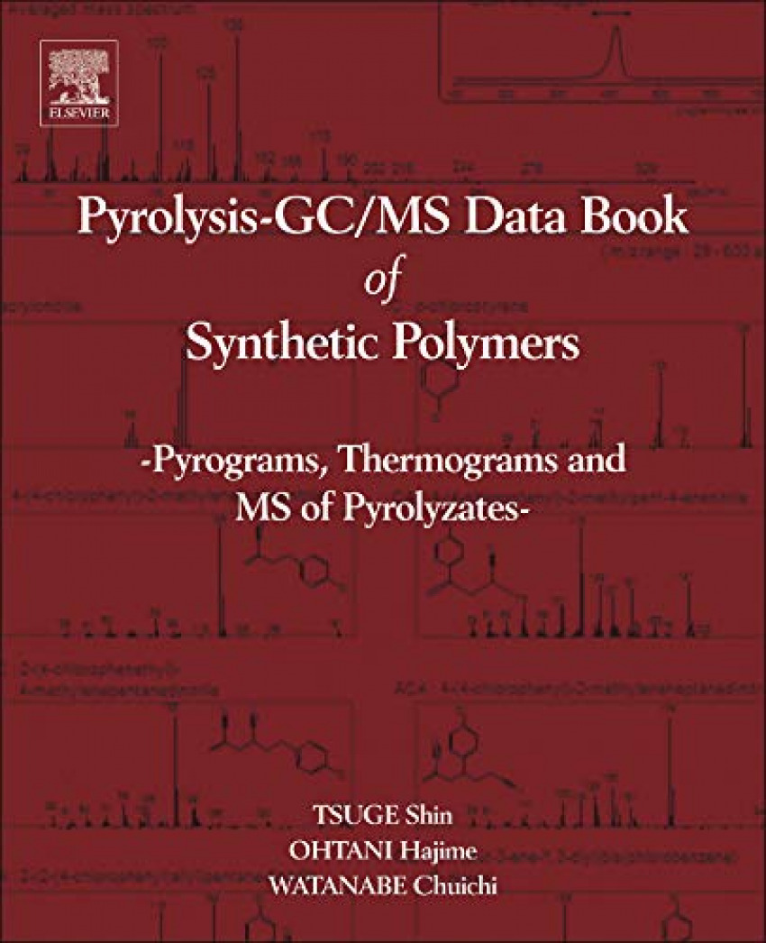 Pyrolysis-gc;ms data book of synthetic polymers