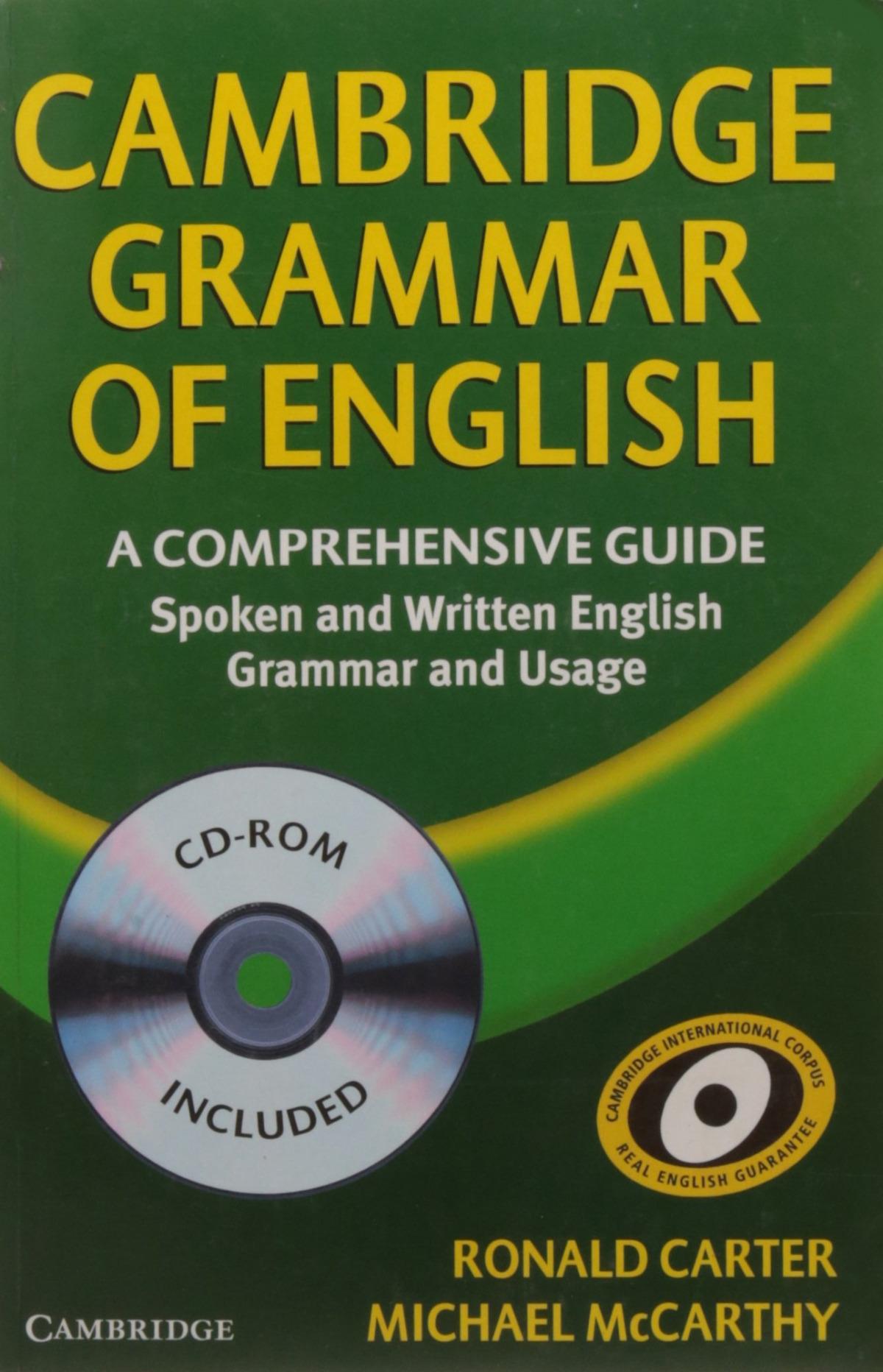CAMBRIDGE GRAMMAR OF ENGLISH.(+CD+KEY) PAPERBACK