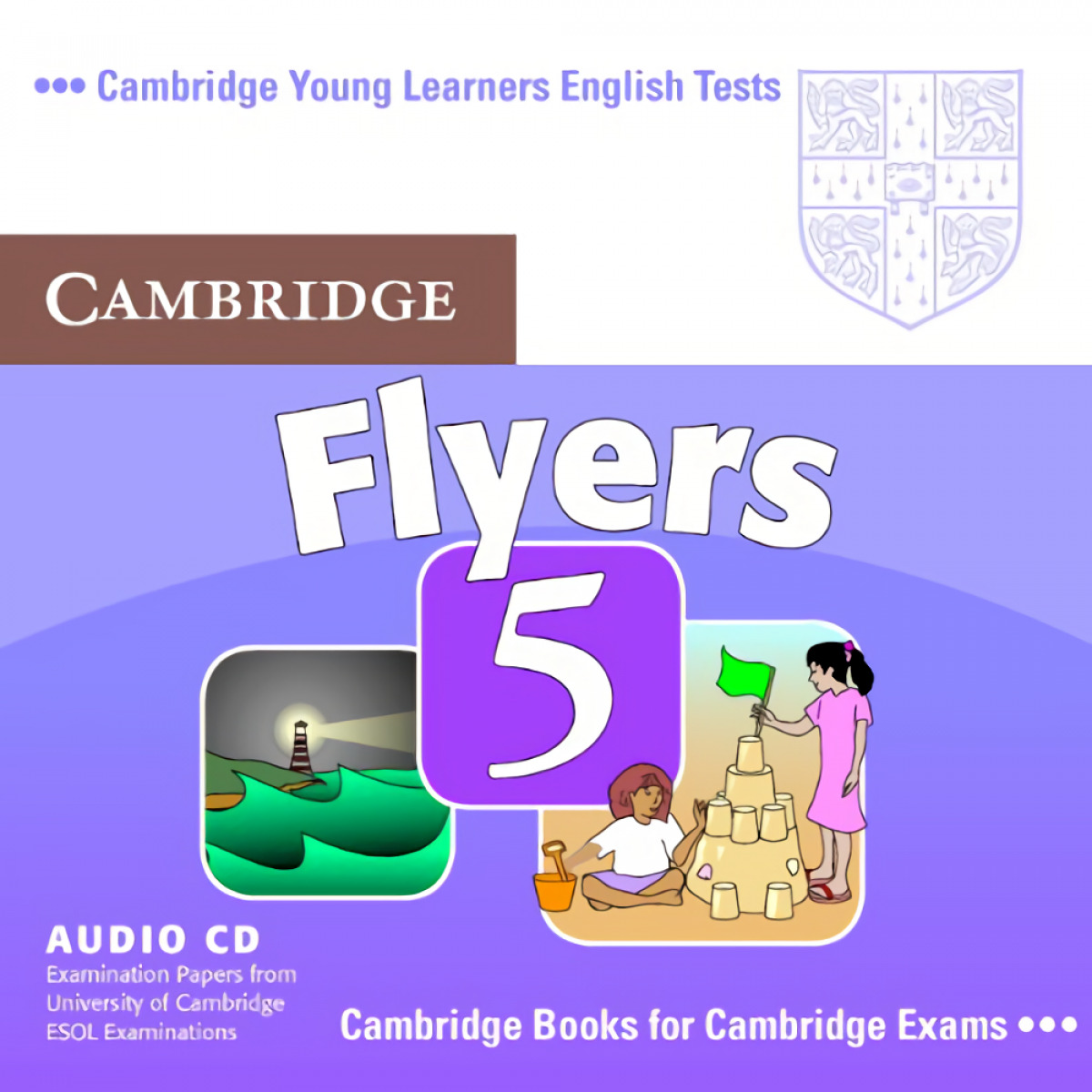 Flyers 5. Audio cd. Cambridge young learners english test