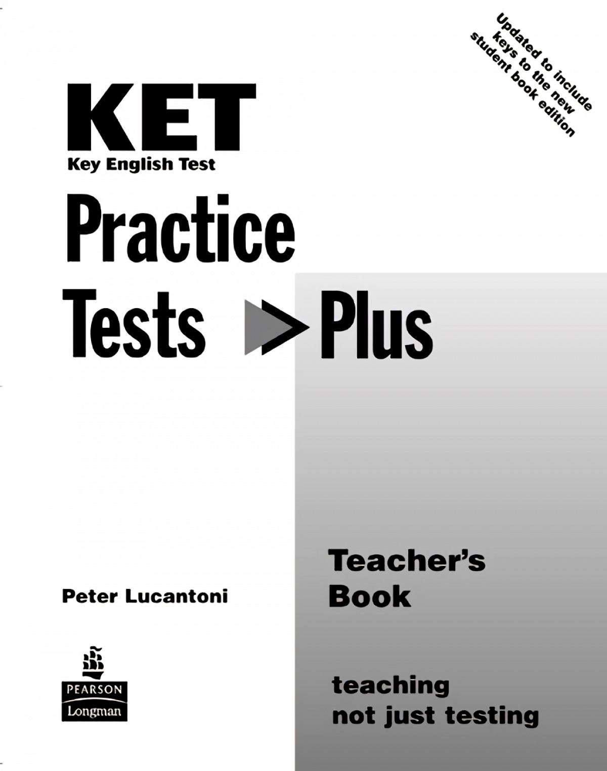 KET Practice Tests Plus Teacher's Book New Edition