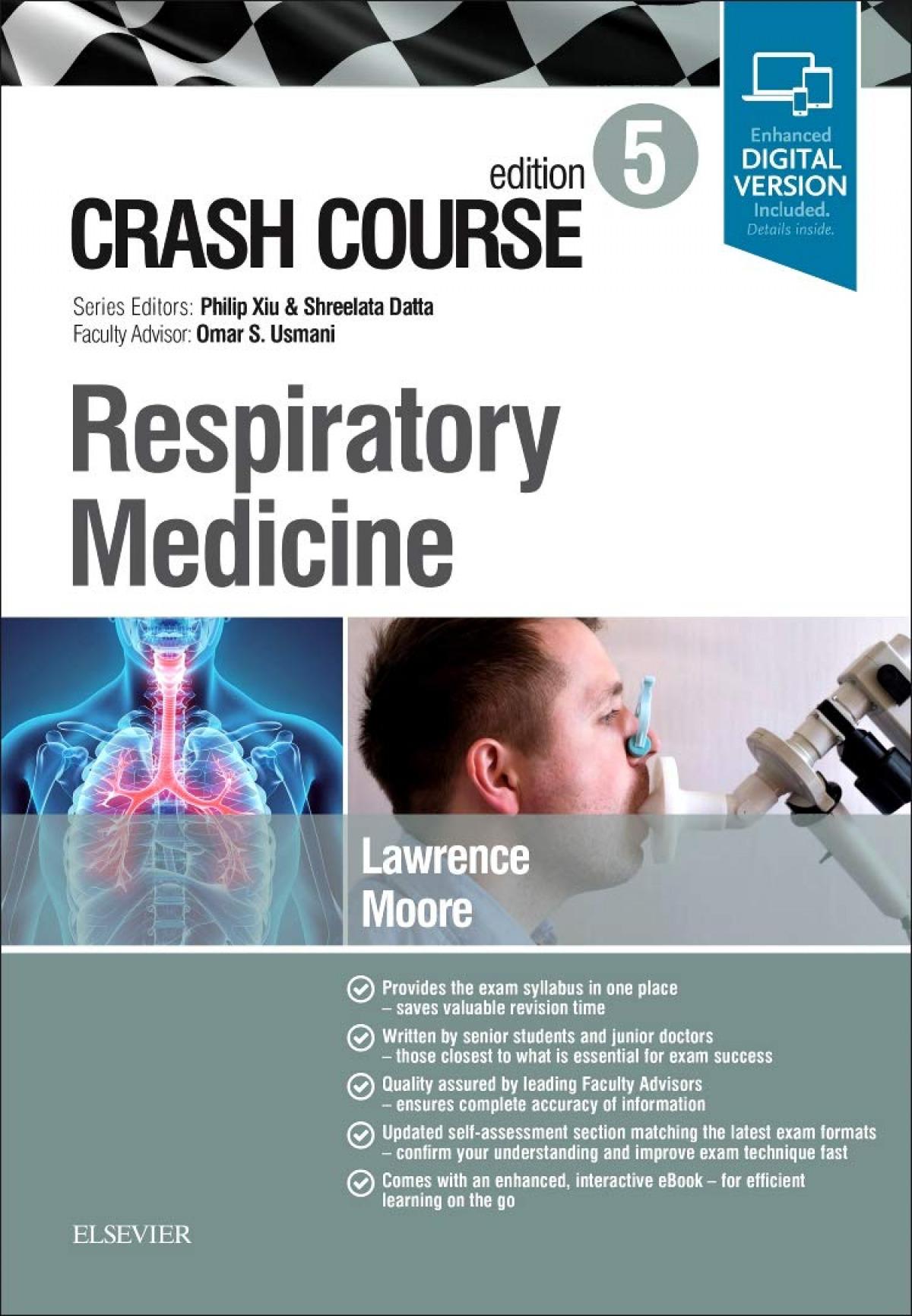 CRASH COURSE RESPIRATORY MEDICINE.5ª ED.