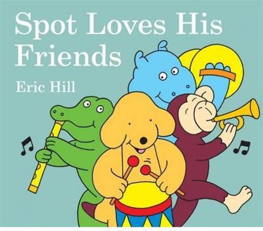 Spot love his friends