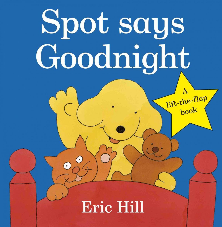 Spot says goodnight