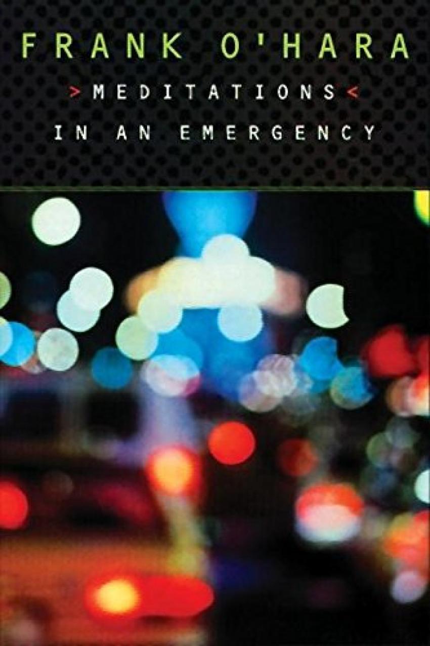 MEDITATIONS IN A EMERGENCY