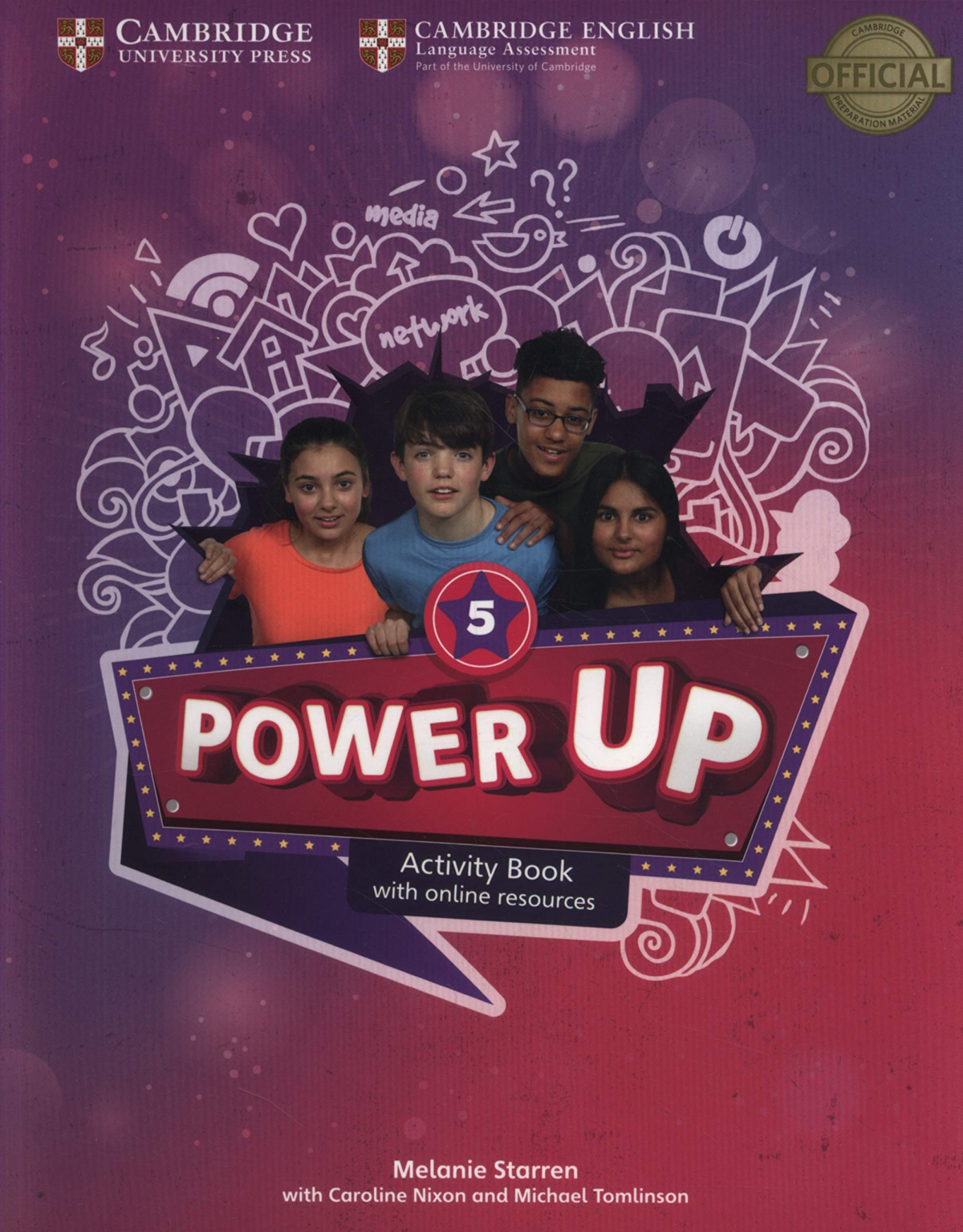 Power Up. Activity Book with Online Resources and Home Booklet. Level 5