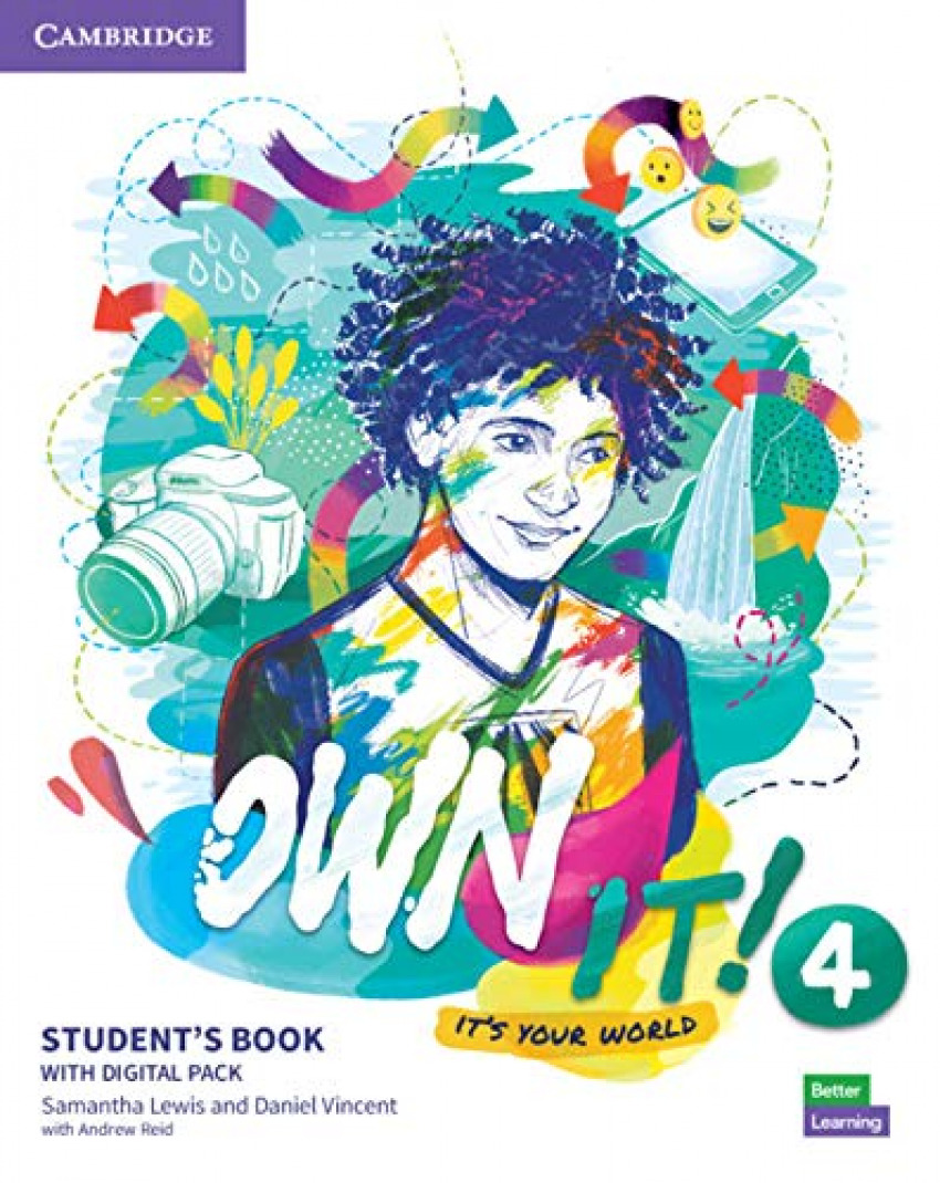 Own it!. Student's Book with Practice Extra. Level 4