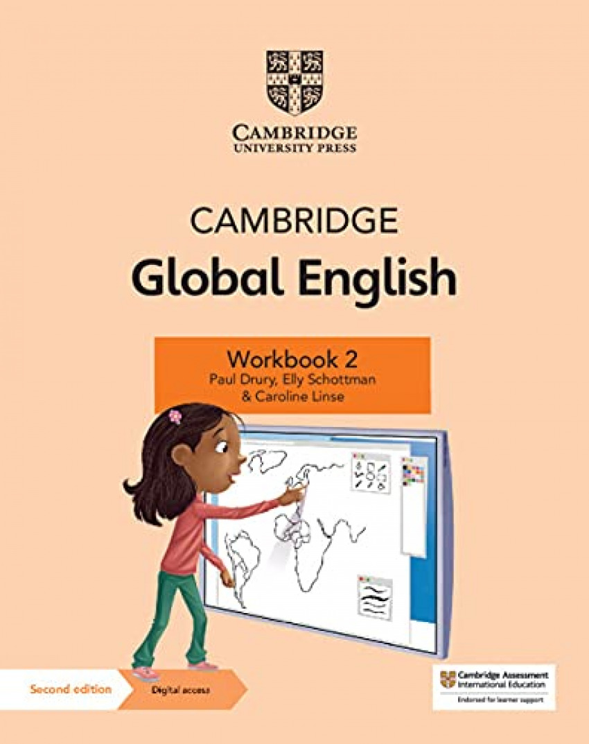 CAMB GLOBAL ENGLISH WORKBOOK+DIG ACCE 2