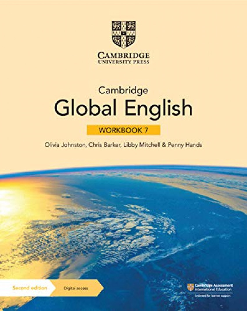 CABRIDGE GLOBAL ENGLISH STAGE 7 WORKBOOK +DIGITAL