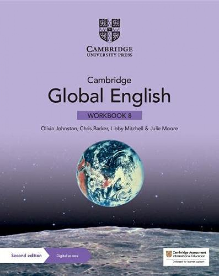 CAMBRIDGE GLOBAL ENGLISH STAGE 8 WORKBOOK +DIGITAL
