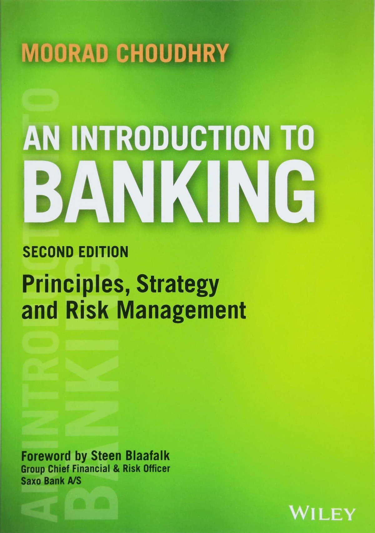AN INTRODUCTION TO BANKING 2 ED