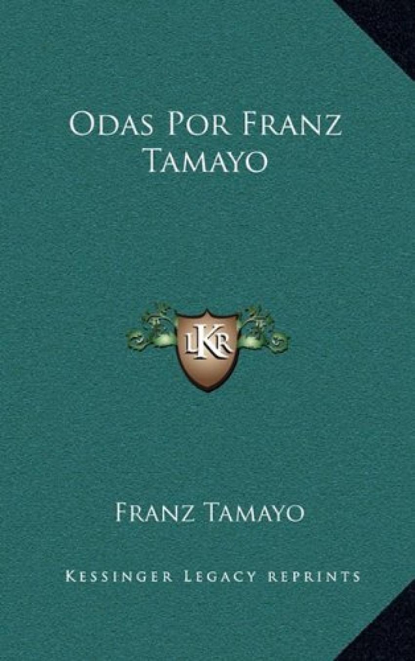 Odas por franz tamayo