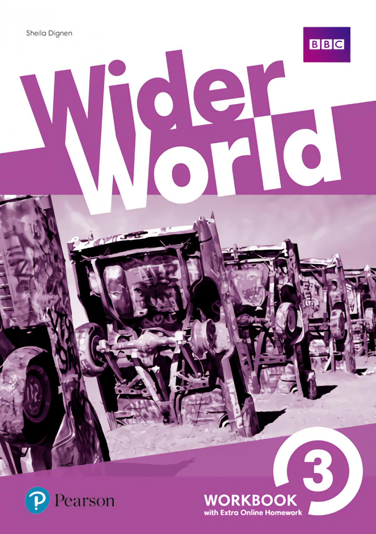 wider world 3 workbook with online homework pack 2017