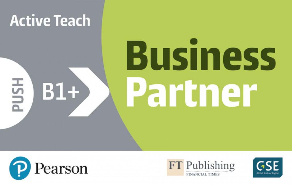 BUSINESS PARTNER B1+ ACTIVE TEACH USB