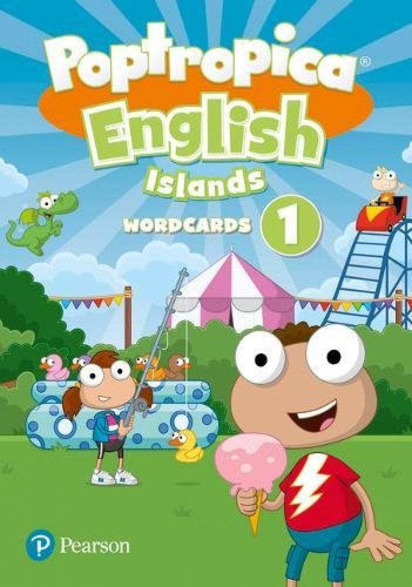 EP - POPTROPICA ENGLISH ISLANDS LEVEL 1 WORDCARDS