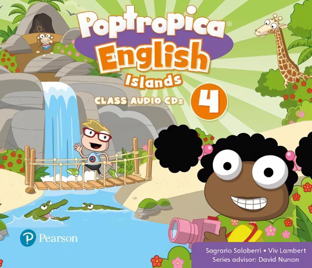 POPTROPICA ENGLISH ISLANDS LEVEL 4 AUDIO CD