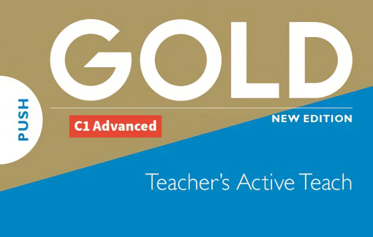 GOLD C1 ADVANCED NEW EDITION TEACHER'S ACTIVETEACH USB