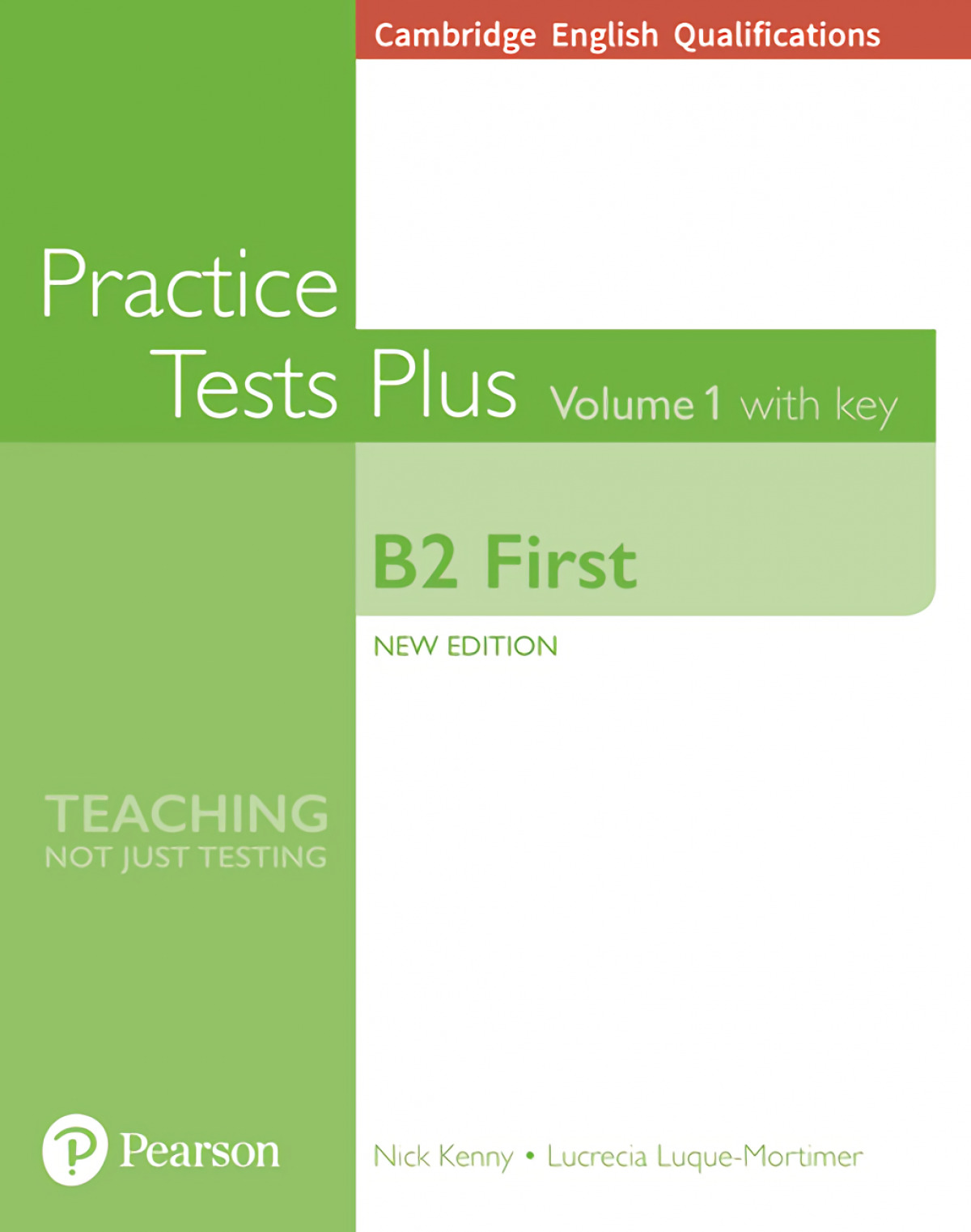 Cambridge English Qualifications: B2 First Volume 1 Practice Tests Pluswith key