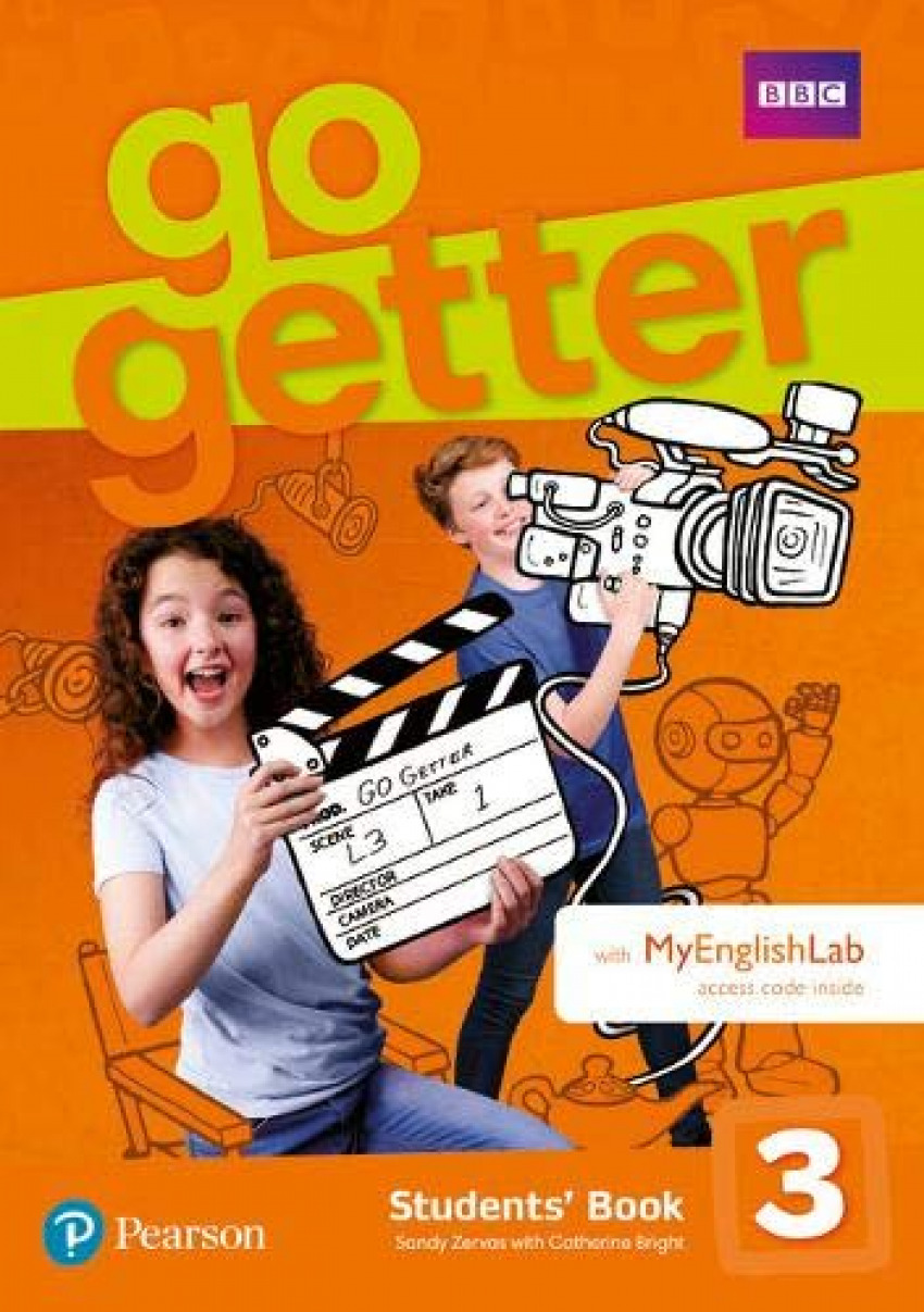 GOGETTER 3 STUDENTS´ BOOK WITH MYENGLISHLAB PACK