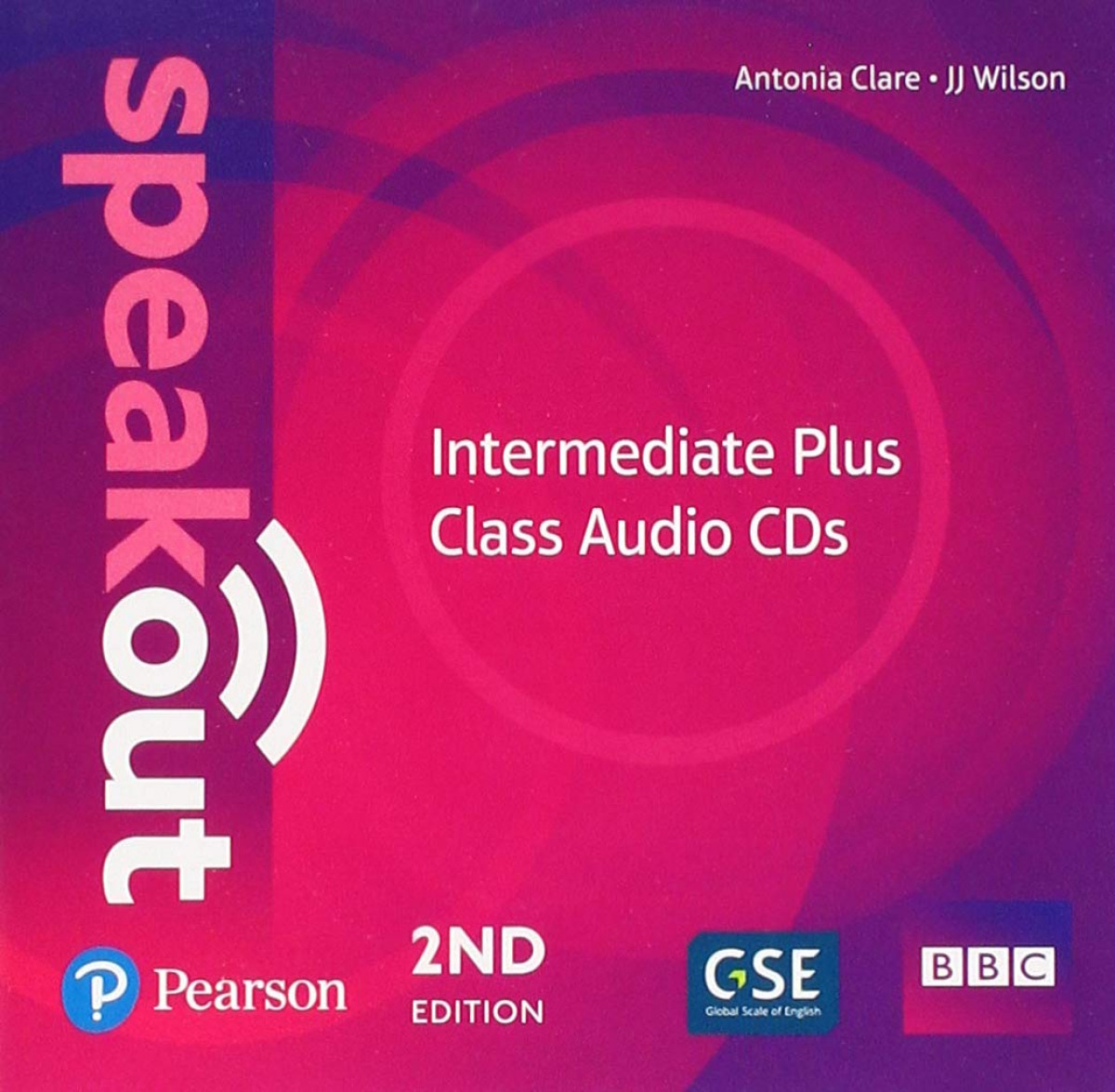 SPEAKOUT INTERMEDIATE PLUS 2ND EDITION CLASS CDS