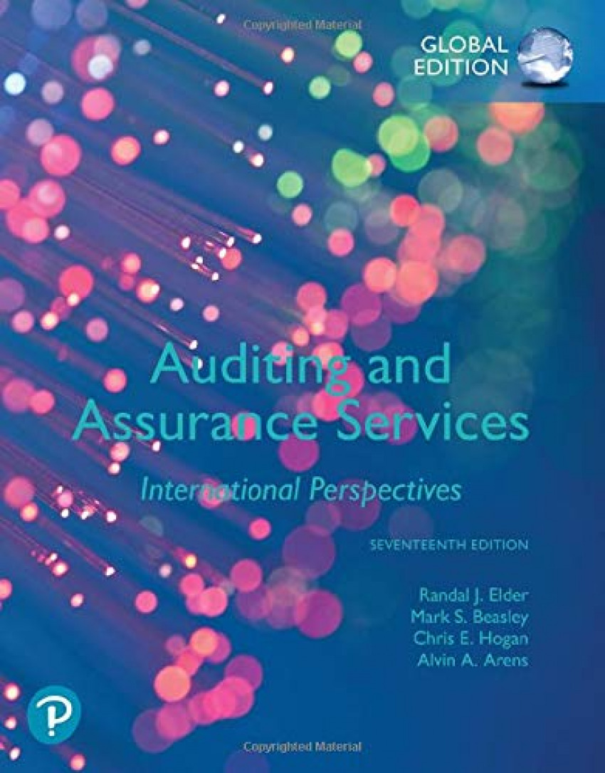 AUDITING AND ASSURANCE SERVICES.(GLOBAL EDITION 17TH ED.)