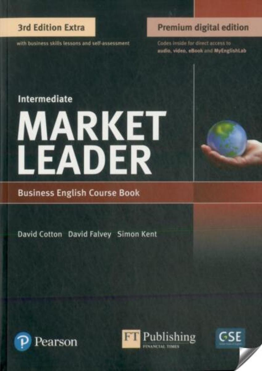 Market Leader 3e Extra Intermediate Course Book, eBook, QR, MEL