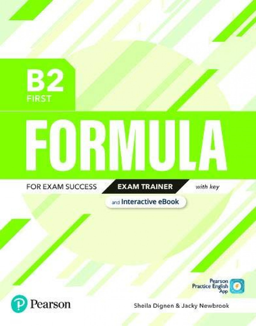 Formula B2 First Exam Trainer and Interactive eBook with Key with Digital Resources