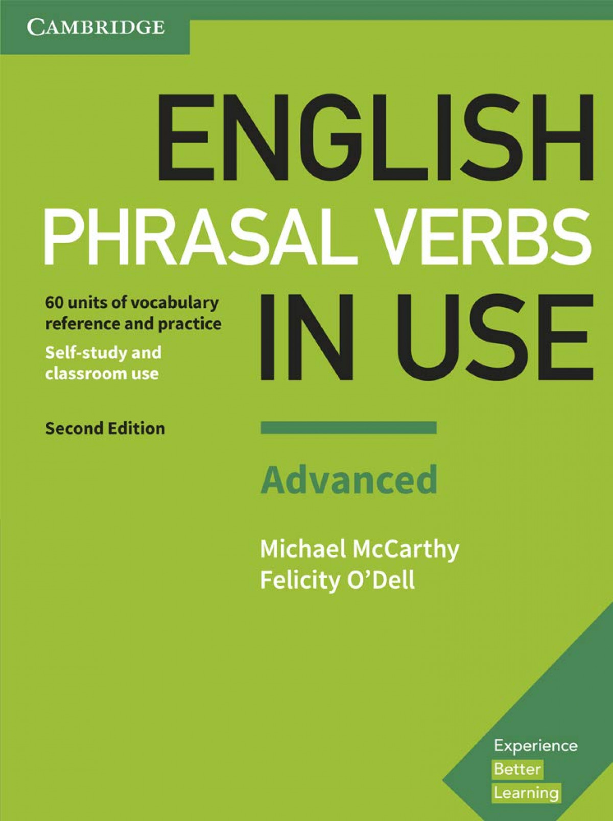 English Phrasal Verbs in Use Advanced with Key Second Edition 2017