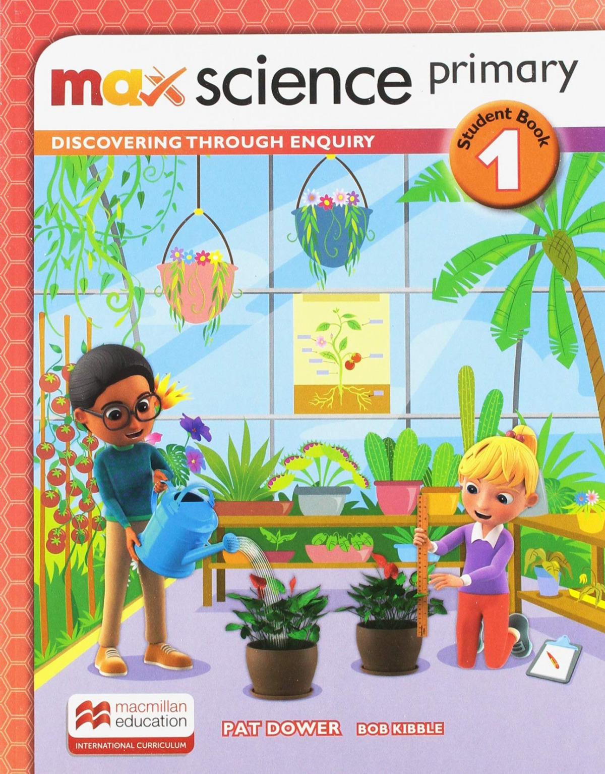 MAX SCIENCE 1ºPRIMARIA. STUDENT'S BOOK 2019