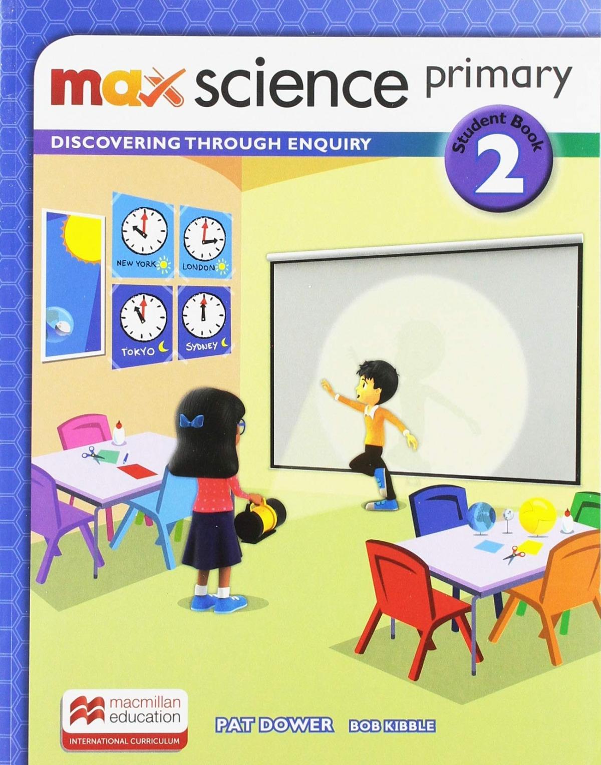 MAX SCIENCE 2ºPRIMARIA. STUDENT'S BOOK 2019
