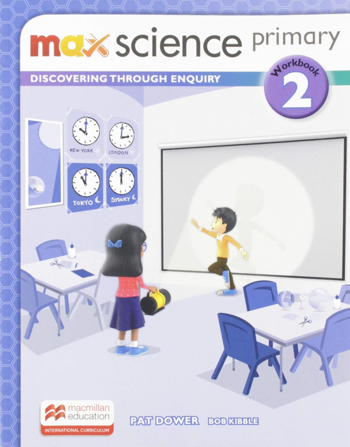 MAX SCIENCE 2ºPRIMARIA. ACTIVITY BOOK 2019