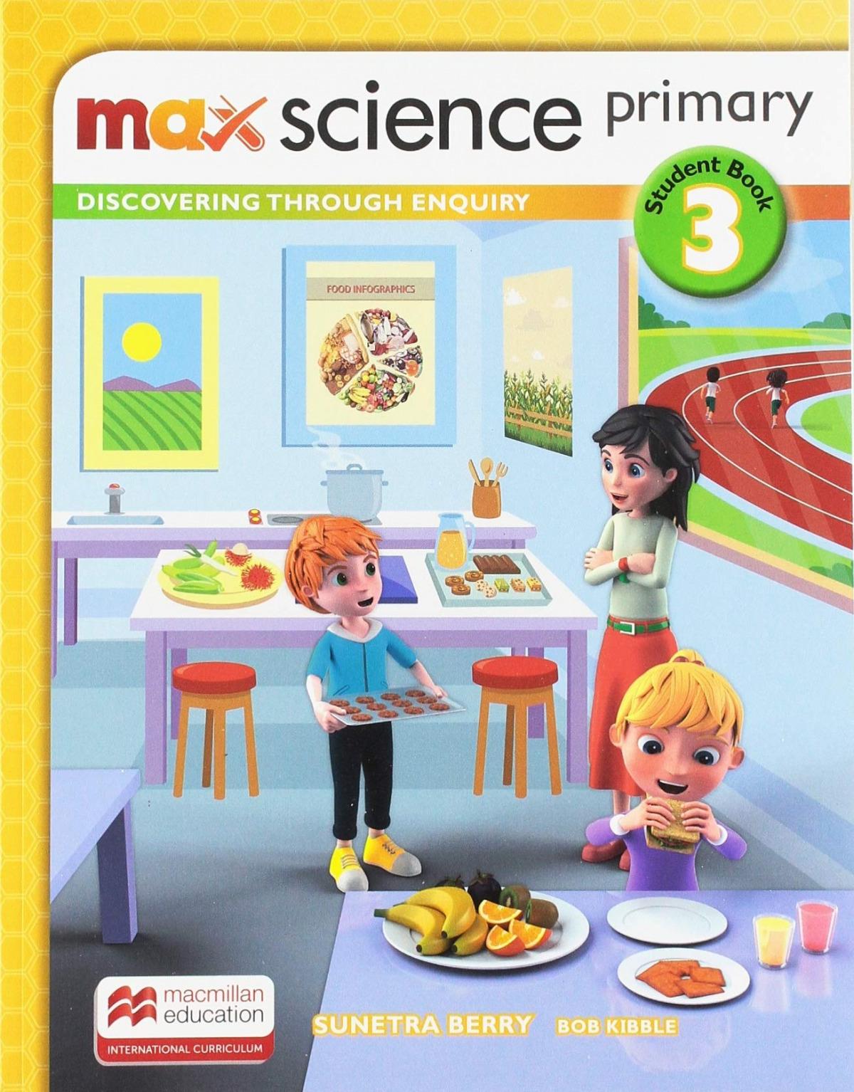 MAX SCIENCE 3ºPRIMARIA. STUDENT'S BOOK