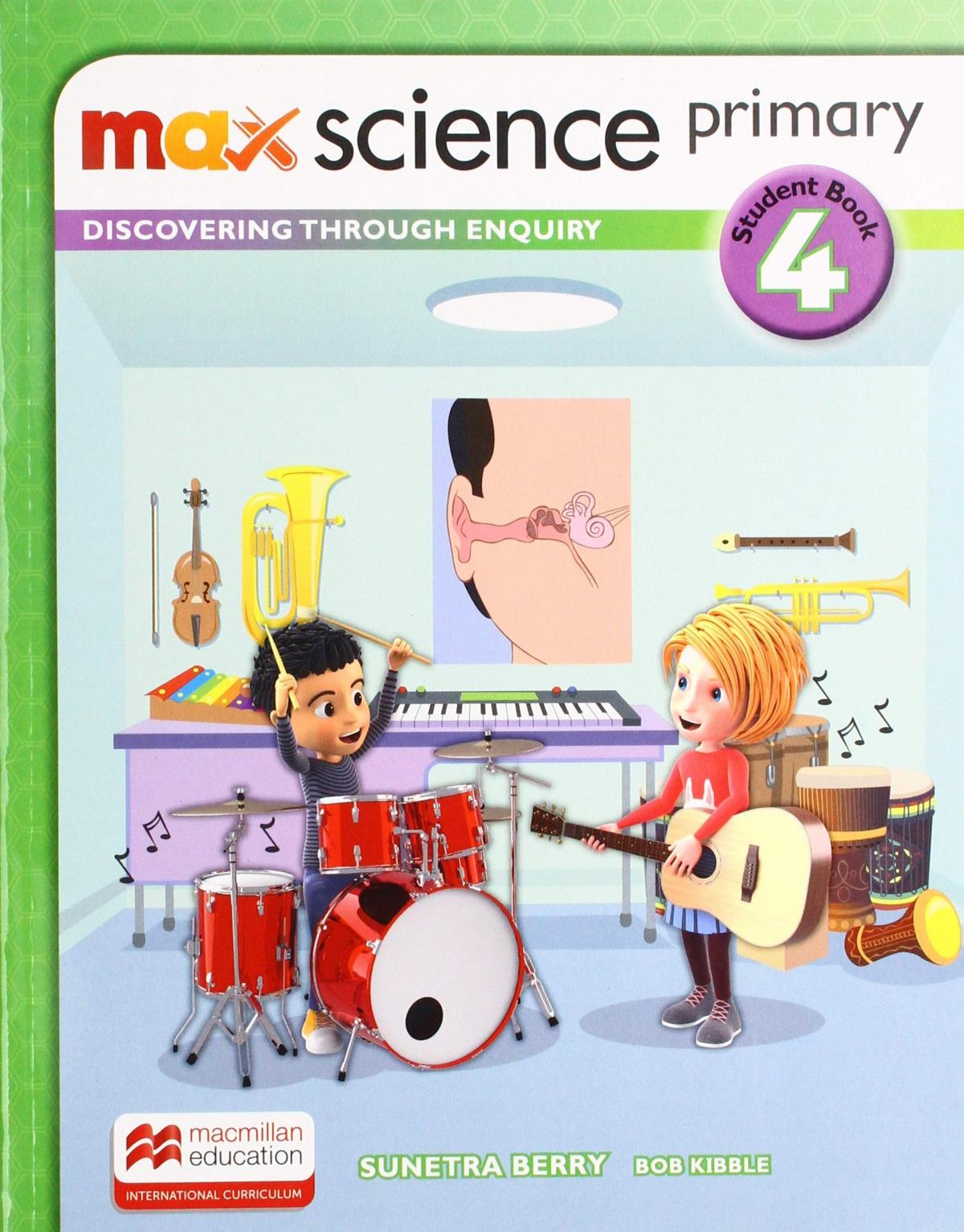 MAX SCIENCE 4ºPRIMARIA. STUDENT'S BOOK