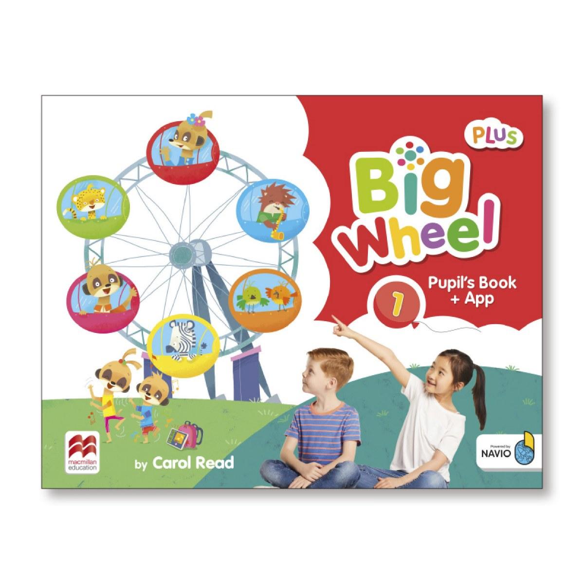 BIG WHEEL 1 PUPIL'S BOOK PACK PLUS