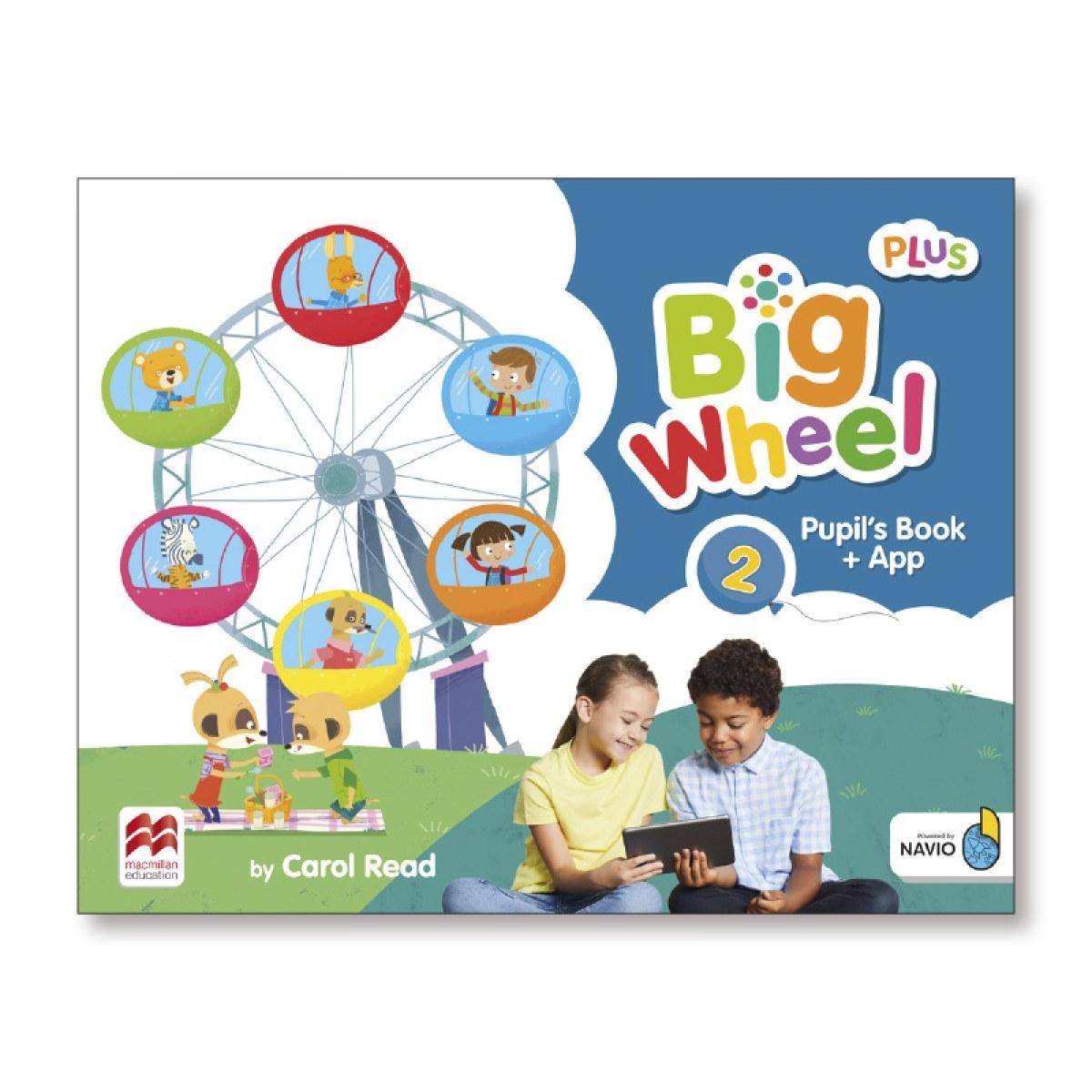 BIG WHEEL 2 PUPIL'S BOOK PACK PLUS