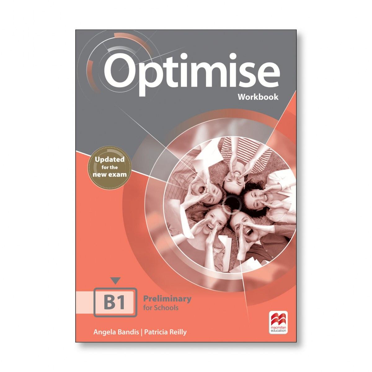 OPTIMISE B1 WORKBOOK -KEY 2019