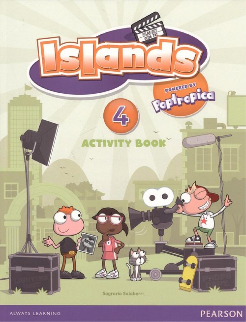 ISLANDS 4 ACTIVITY BOOK.POPTROPICA