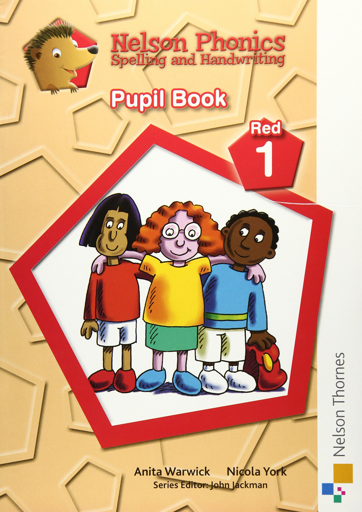 Nelson Phonics Spelling and Handwriting Student's Book Red 1