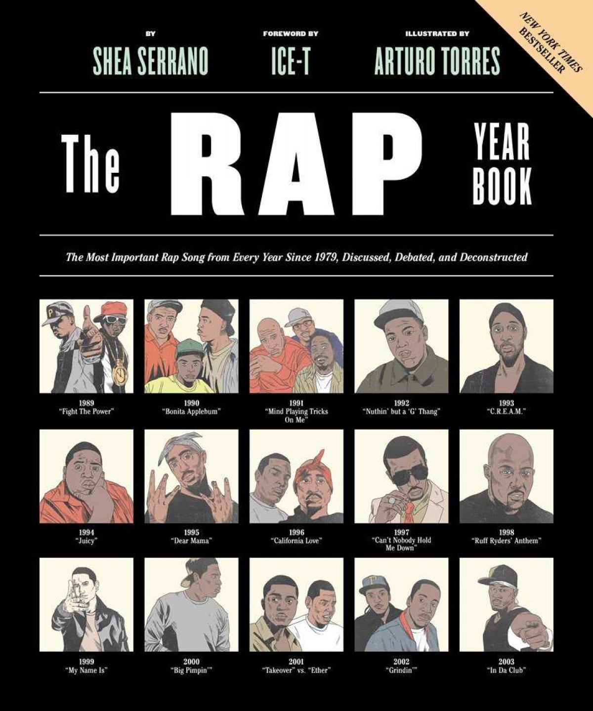 Rap yearbook, The - The Most Important Rap Song from Every Year S