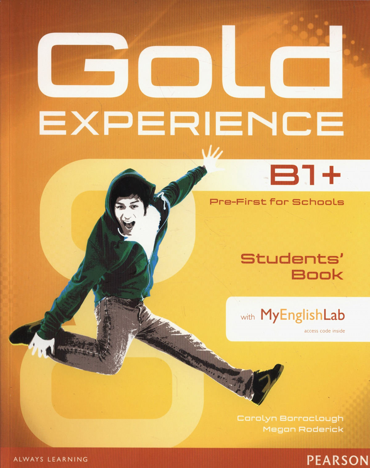 Gold experience B1+ student +dvd +my grammar lab