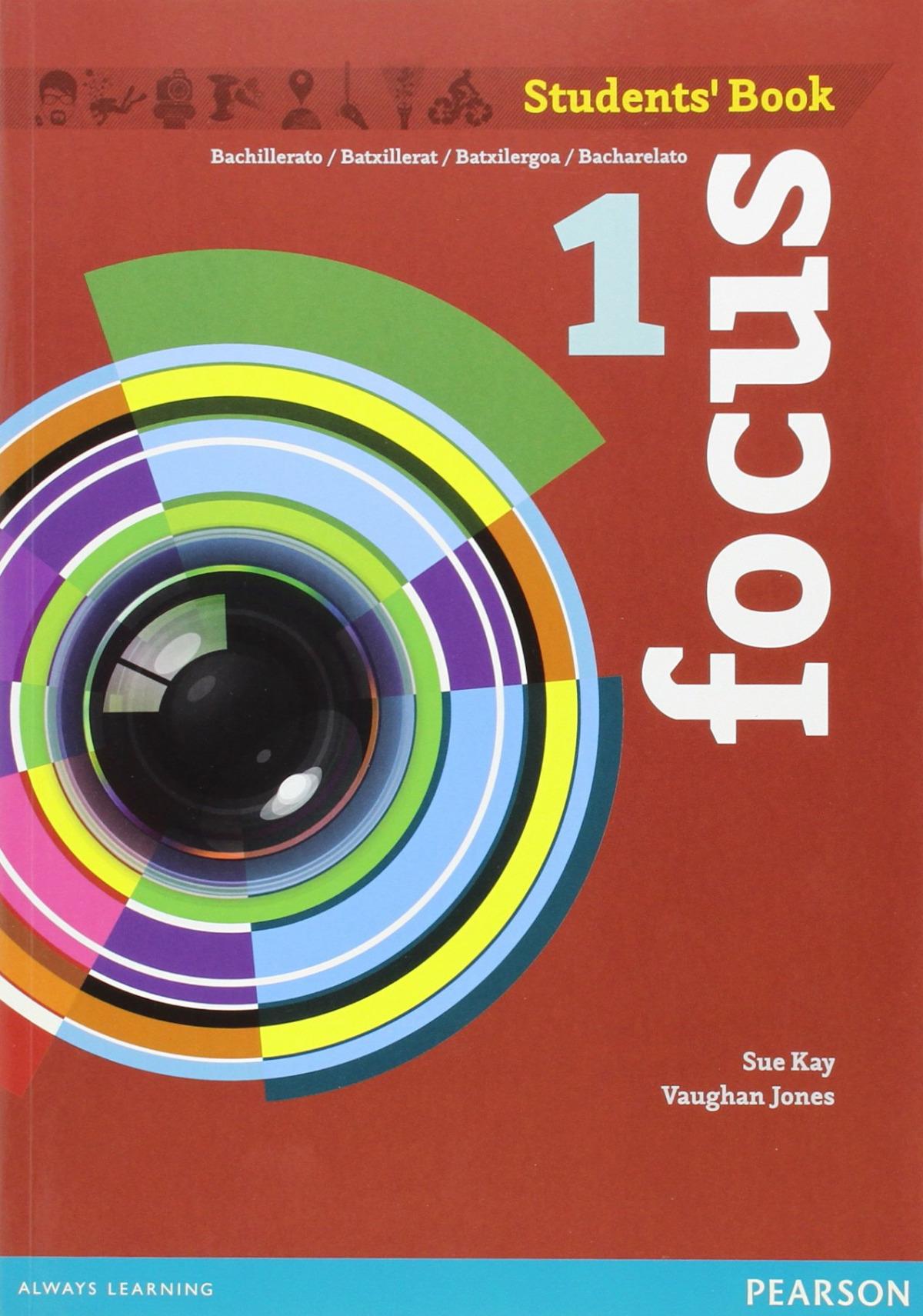 Focus spain 1ºbachillerato. Student's book