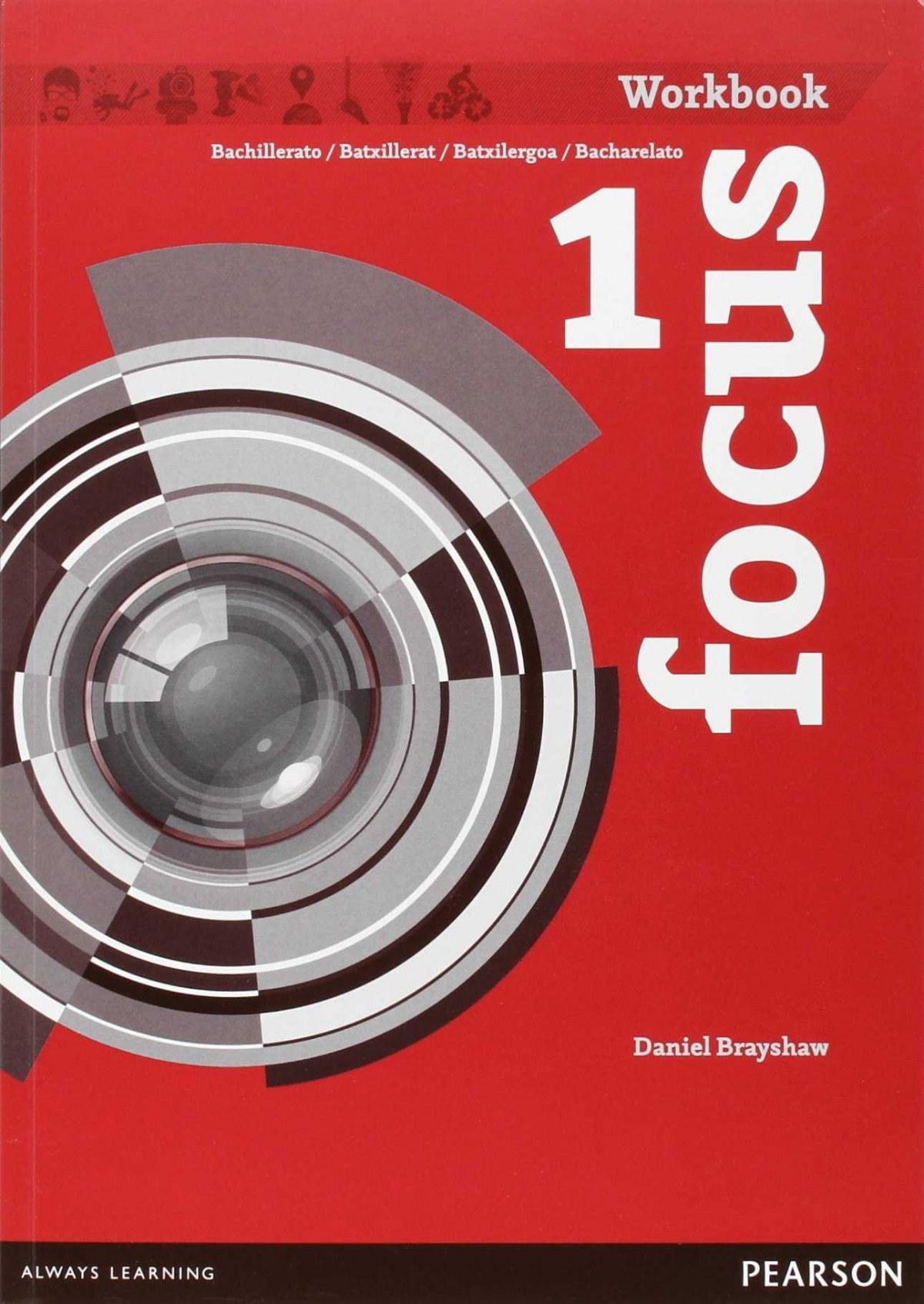 Focus spain 1ºbach. Workbook