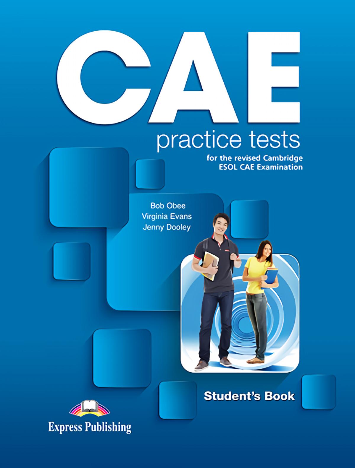 CAE PRACTICE TEST STUDENT´S BOOK