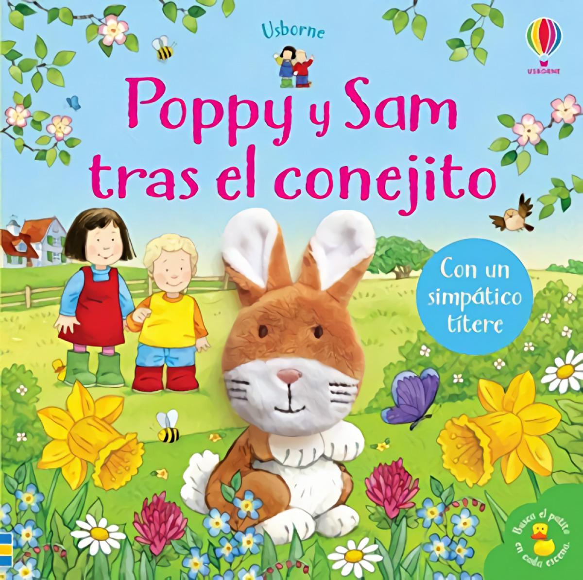Poppy y sam tras el conejito