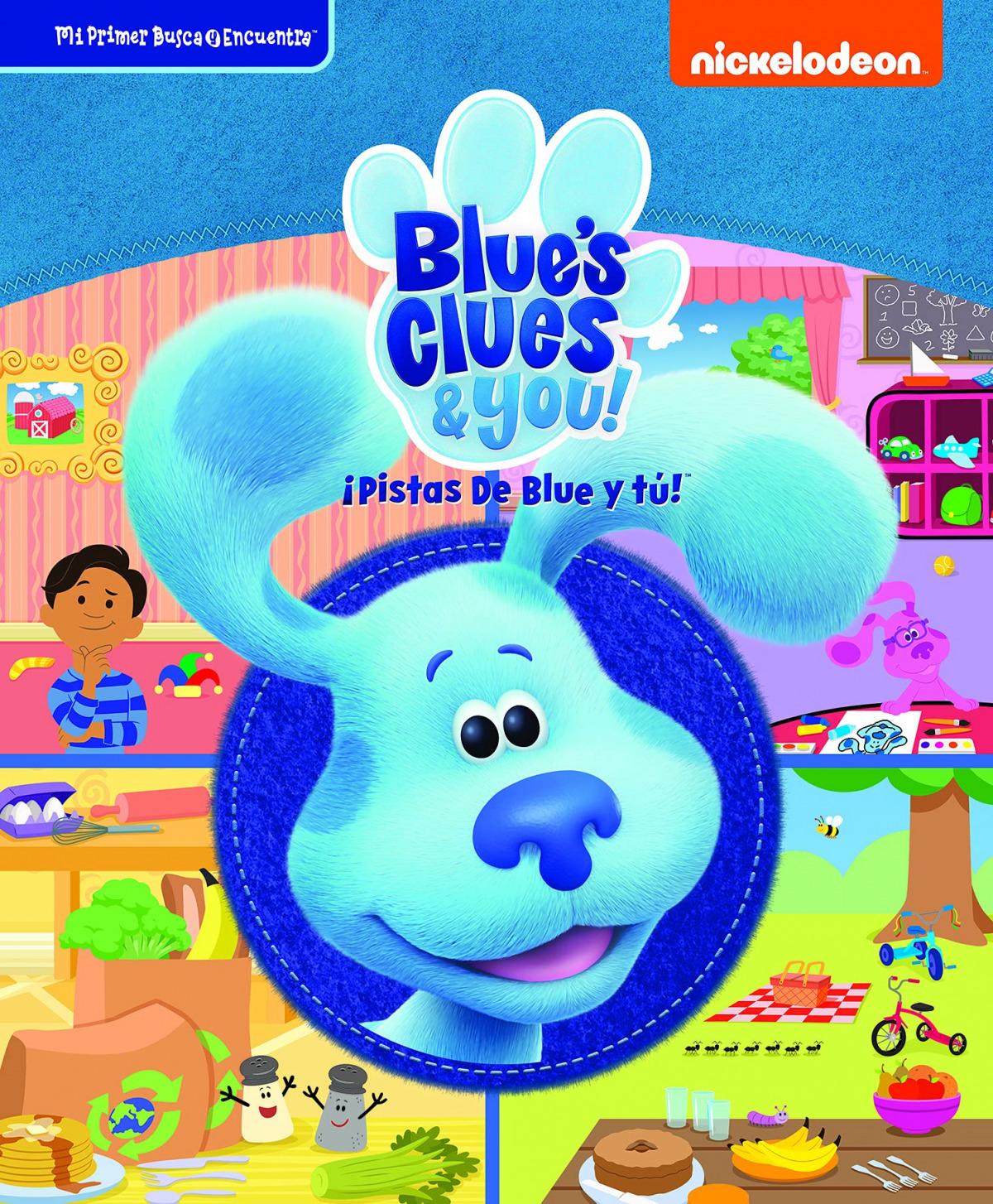 MI PRIMER BUSCA Y ENCUENTRA BLUE'S CLUES