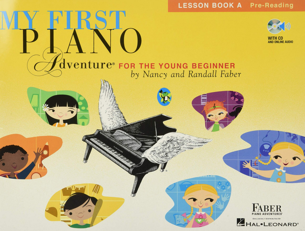 MY FIRST PIANO LESSON BOOK A PRE-READING