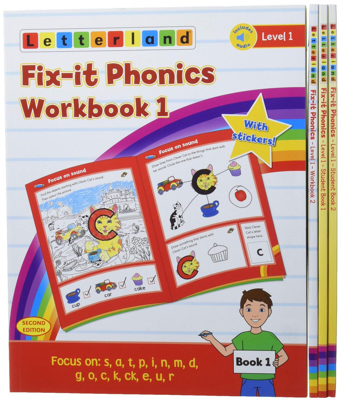 Fix it phonics: student pack level 1