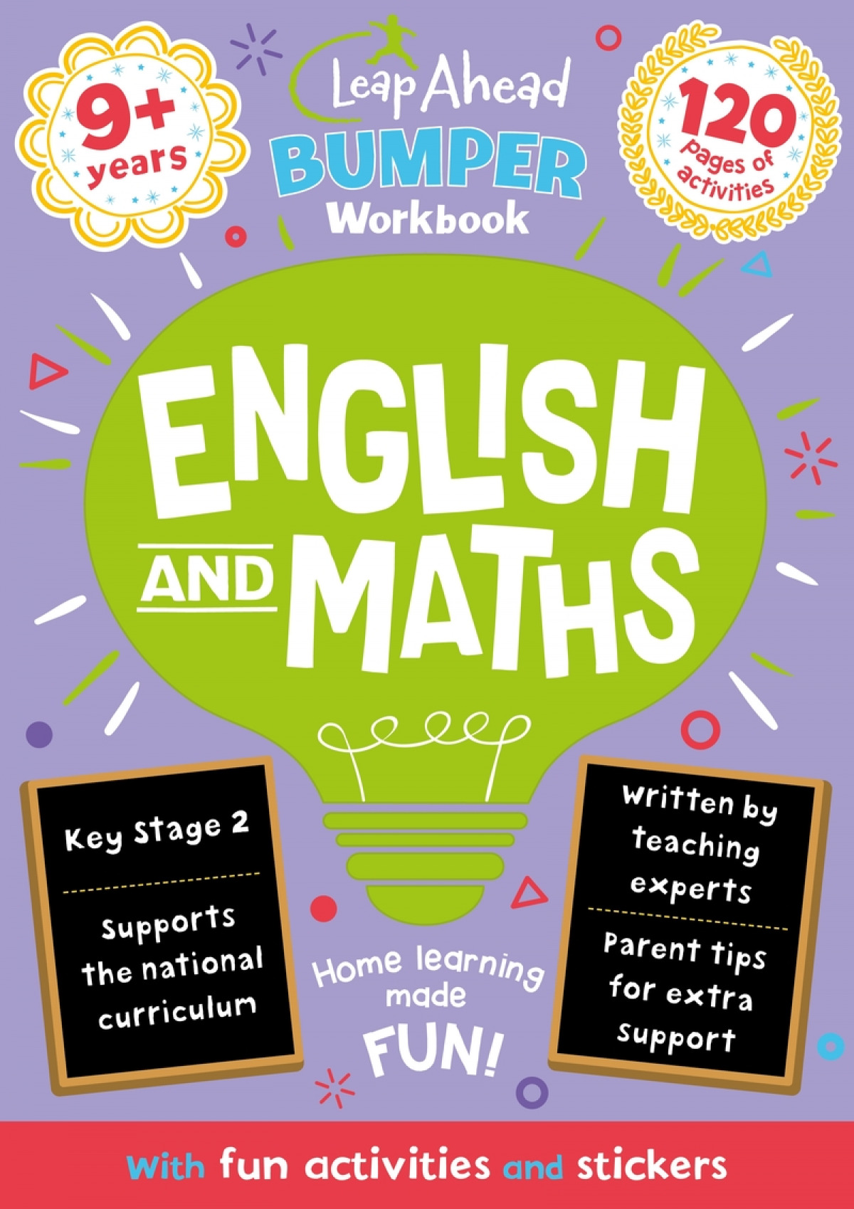 Leap Ahead Bumper Workbook: 9+ Years English and Maths
